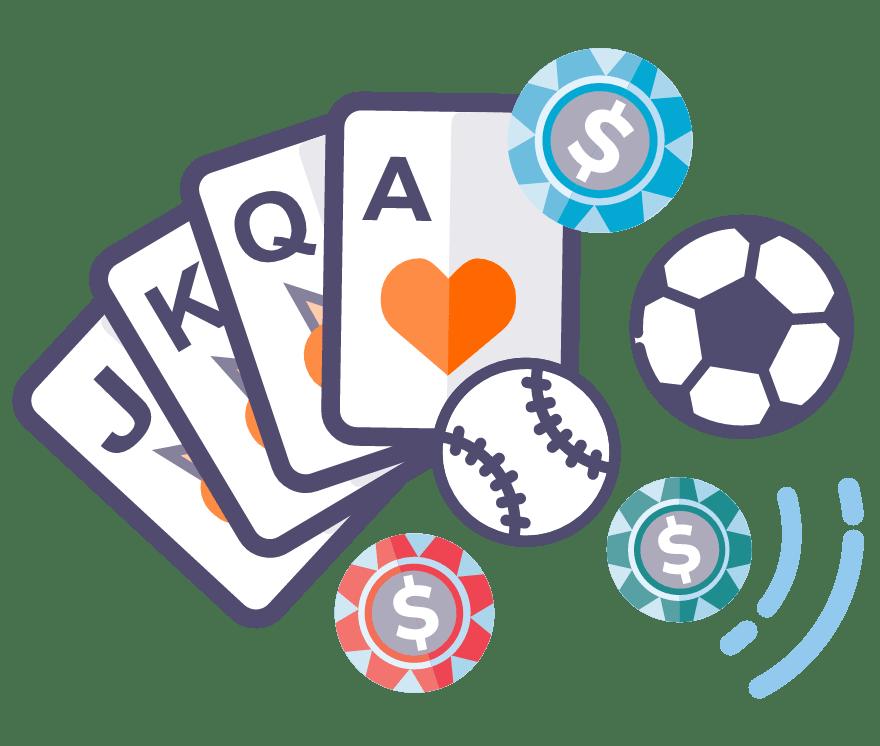 7 parimat Online Casinot, mille mängude hulgas on 2021. aastal Sports Betting
