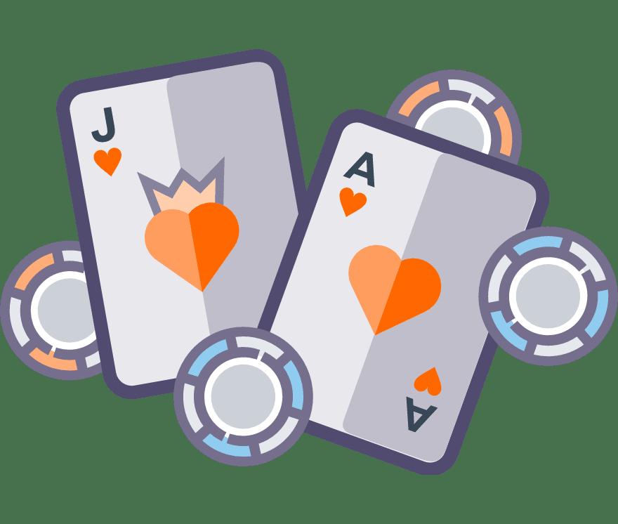 98 parimat Online Casinot, mille mängude hulgas on 2021. aastal Blackjack