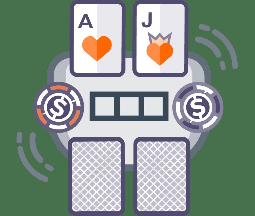 40 parimat Online Casinot, mille mängude hulgas on 2021. aastal Casino Holdem