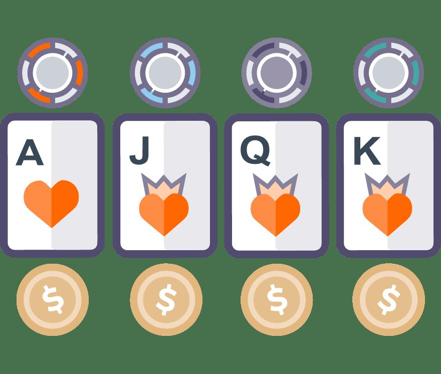 2 parimat Online Casinot, mille mängude hulgas on 2021. aastal Faro