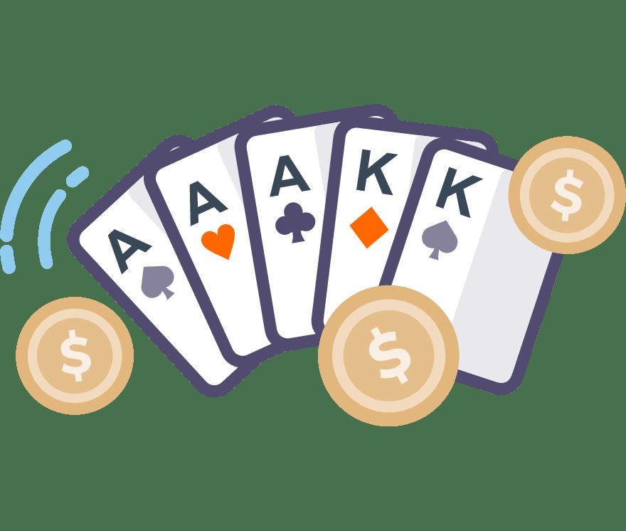 74 parimat Online Casinot, mille mängude hulgas on 2021. aastal Poker