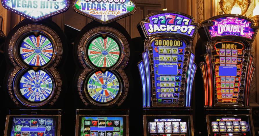 Mänguautomaadid, mis panustavad varandusse