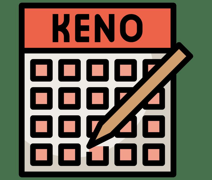 38 parimat Online Casinot, mille mängude hulgas on 2021. aastal Keno