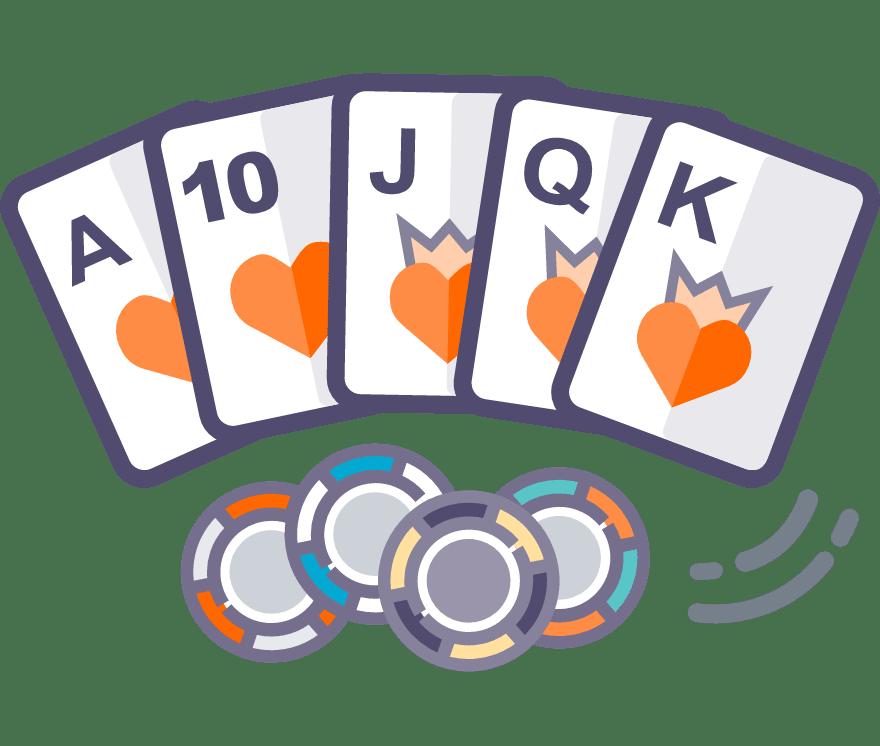 31 parimat Online Casinot, mille mängude hulgas on 2021. aastal Texas Holdem