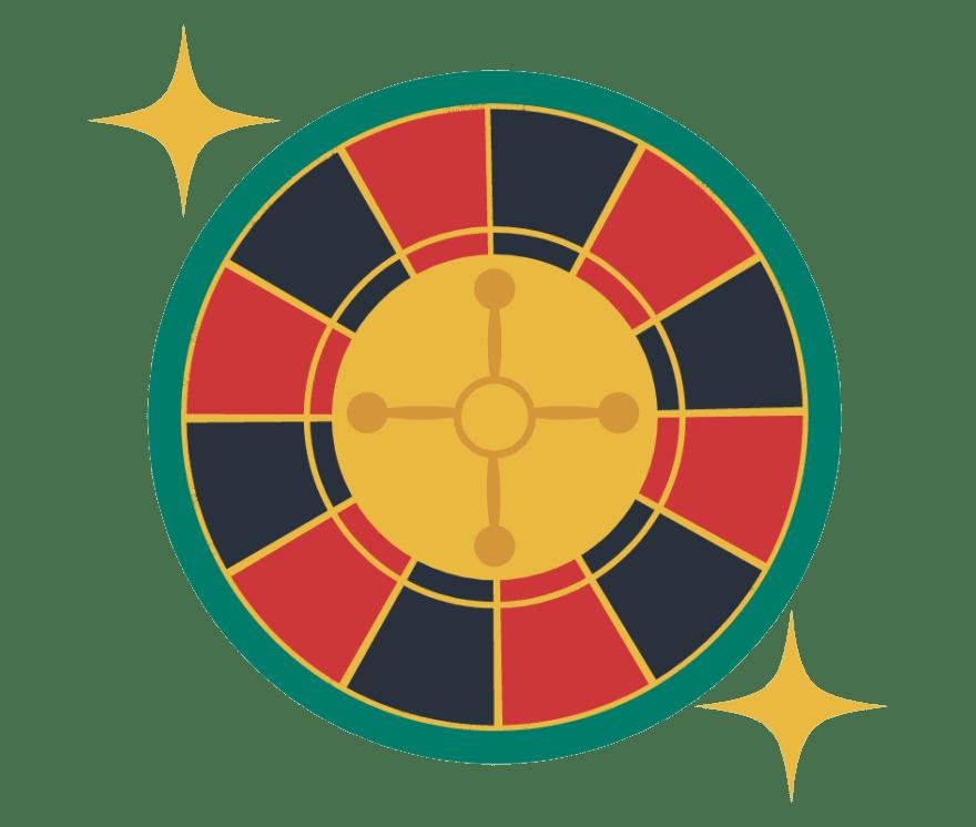 112 parimat Online Casinot, mille mängude hulgas on 2021. aastal Roulette
