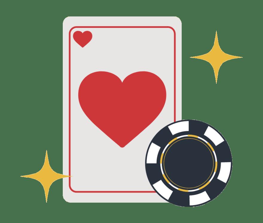 87 parimat Online Casinot, mille mängude hulgas on 2021. aastal Poker
