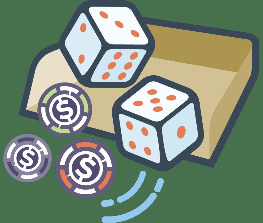 30 parimat Online Casinot, mille mängude hulgas on 2021. aastal Craps
